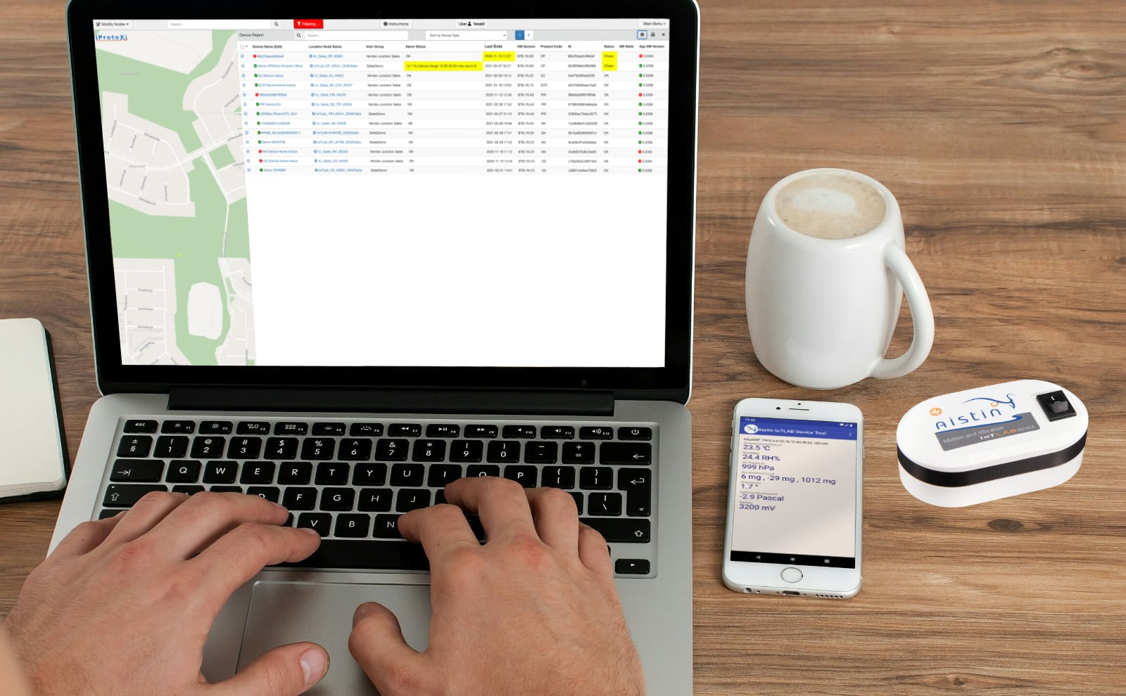 Device Management with Aistin Cloud Solution