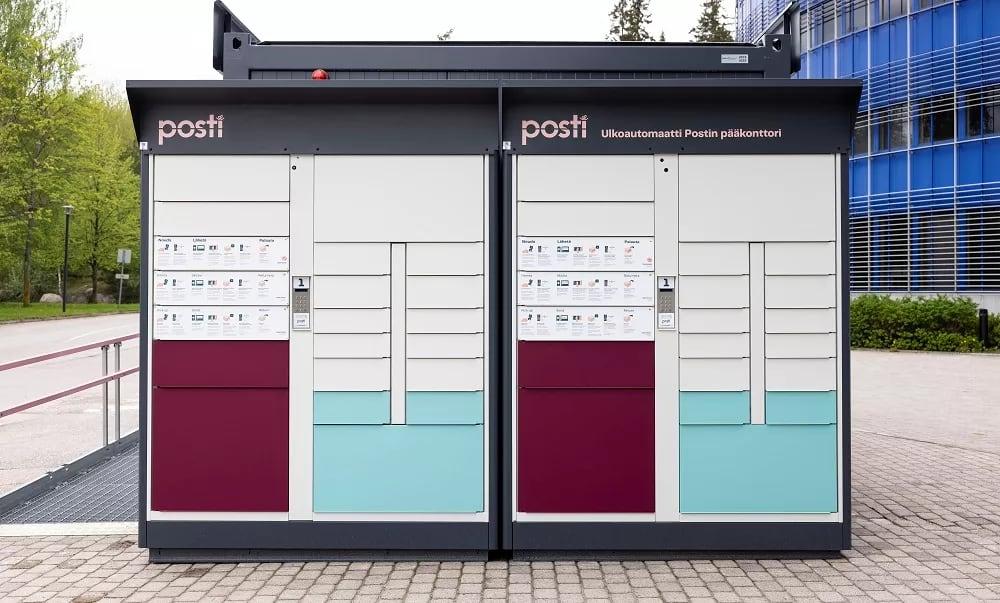 Postin uudet kotimaiset ulkoautomaatit